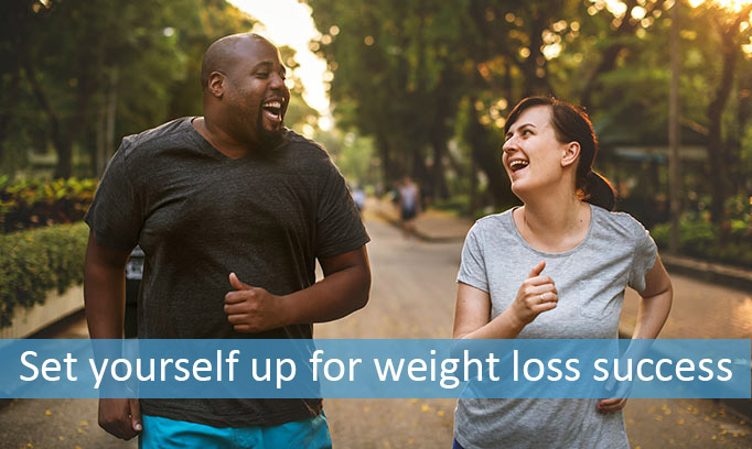 Setting yourself up for weight loss success