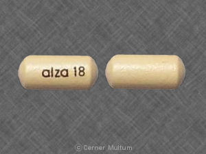Image of Concerta 18 mg