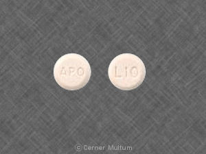 Image of Lovastatin 10 mg-APO