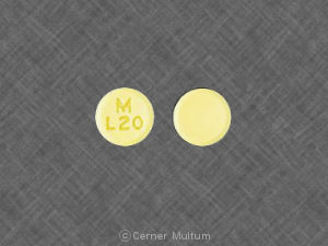 Image of Lovastatin 20 mg-MYL