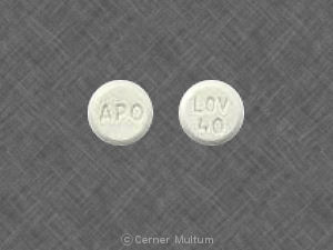 Image of Lovastatin 40 mg-APO