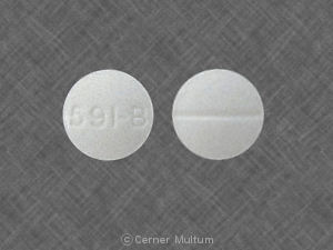 Image of Meprobamate 200 mg-WAT