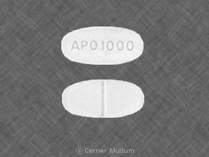 Image of Metformin 1000 mg-APO