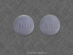 Image of Morphine SR 100 mg-WAT