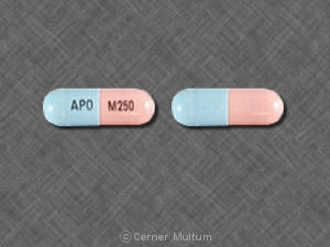 Image of Mycophenolate 250 mg-APO