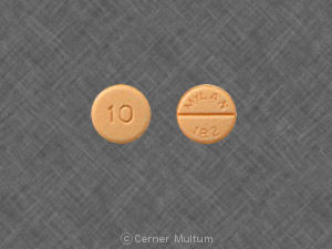 Image of Propranolol 10 mg-MYL