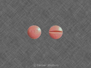 Image of Univasc 15 mg